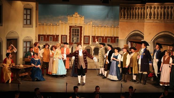 Die Solisten und der «Classionata» Chor entführten das Publikum in der Aula des Schulhauses Brühl in Mümliswil ins besetzte polinsche Krakau im Jahr 1704.