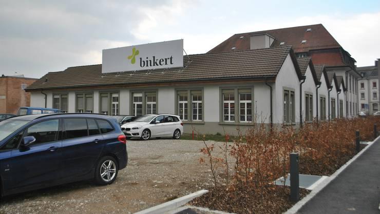 Die Liegenschaft der Binkert Medien AG soll vermietet werden.