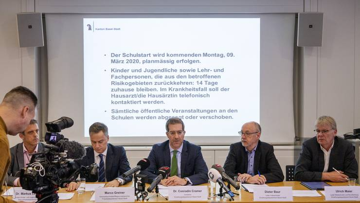 Am Donnerstagnachmittag informierte der Kanton Basel-Stadt über den bevorstehenden Schulstart.