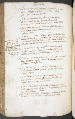 Diese Taufbücher sind die ältesten im deutschsprachigen Raum. Jetzt wurden sie zurück nach Basel geholt.