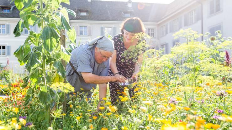 Der prächtige Garten des Klosters Fahr ist das Reich von Schwester Beatrice.