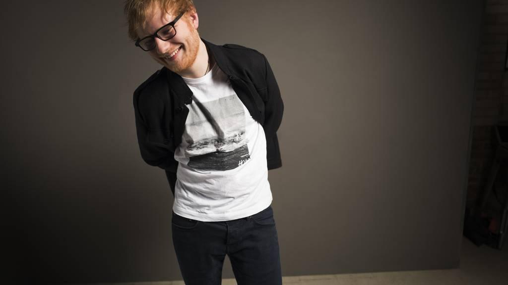 Ed Sheeran macht den Pumuckl