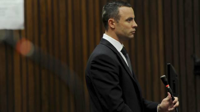 Oscar Pistorius im Gerichtssal in Pretoria (Archiv)
