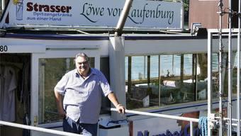 Jürgen Schroff, Betreiber des Fahrgastschiffs «Löwe von Laufenburg» möchte in Pension gehen. Markus Vonberg