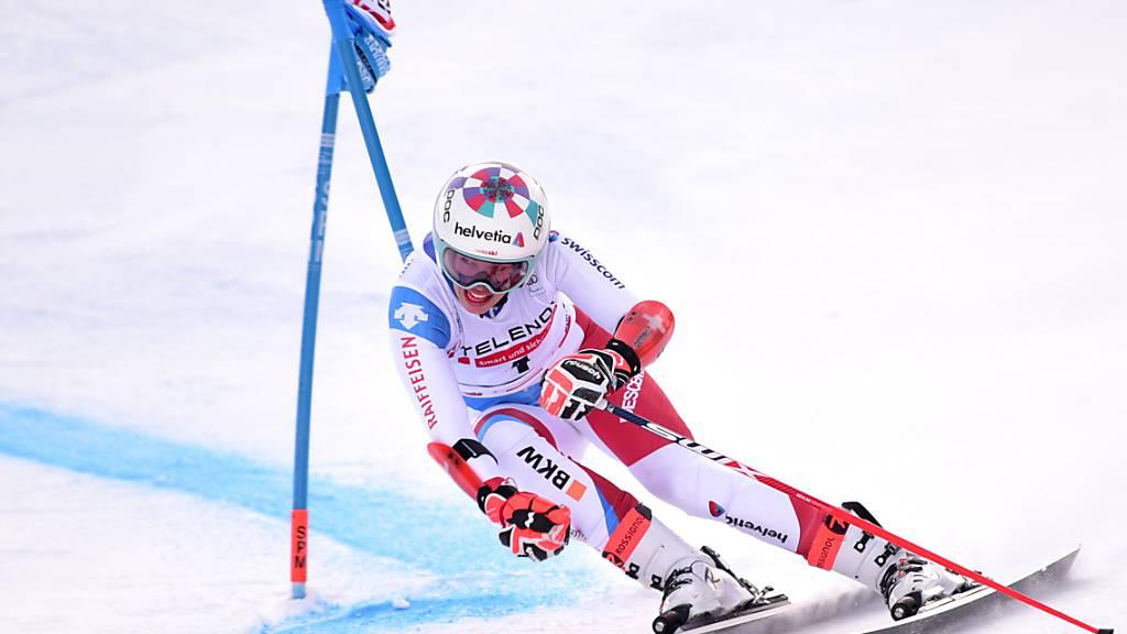 Schweizerinnen top: Gisin Zweite, Gut Vierte, Holdener Achte