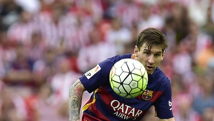 Barças Superstar Lionel Messi gilt bei der morgigen Wahl zu Europas Fussballer des Jahres als Favorit