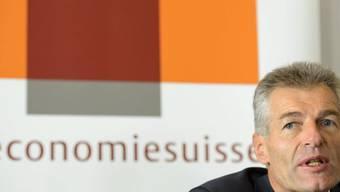 Economiesuisse-Präsident Heinz Karrer (Archiv)