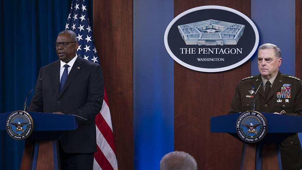 US-Militär:In Afghanistan droht Bürgerkrieg