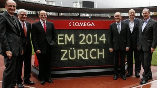 Zürich ist Gastgeber der Leichtathletik-EM 2014