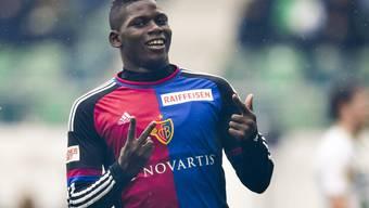 Breel Embolo wird diese Saison nicht mehr für den FC Basel auflaufen können.