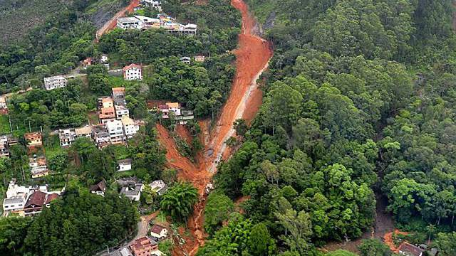 Teresopolis ist besonders stark von Erdrutschen und Schlammlawinen betroffen