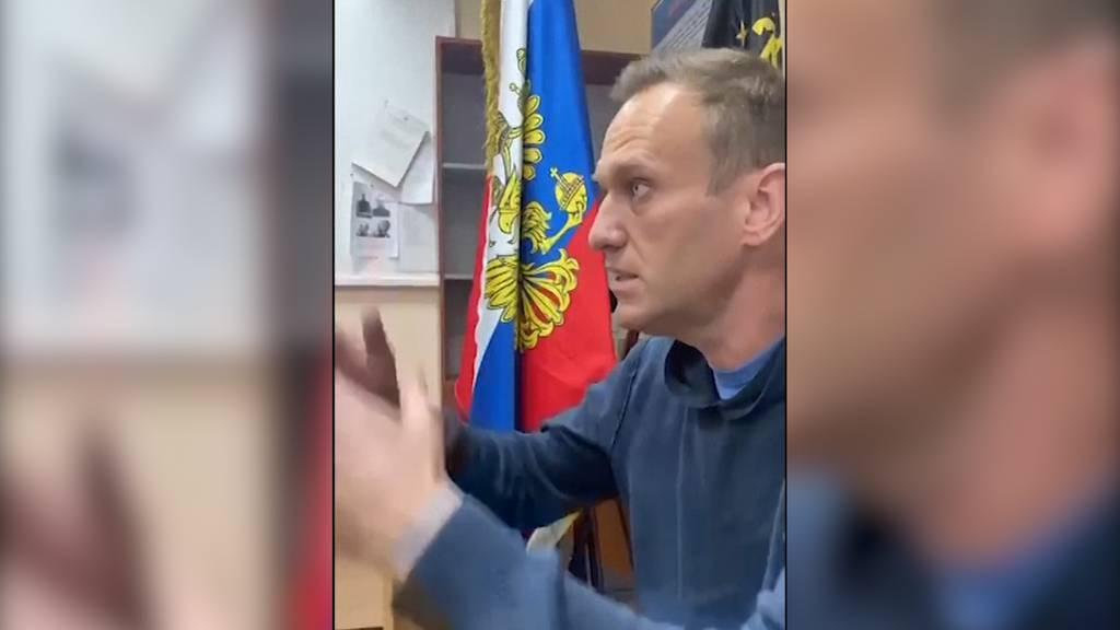 Alexej Nawalny in Eilprozess zu Gefängnisstrafe verurteilt