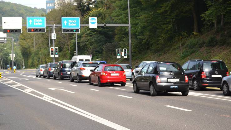 Der Tatort: Am Badener Tor fuhr der Verurteilte 65 km/h zu schnell.