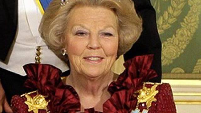 Königin Beatrix ist schlecht geschützt (Archiv)