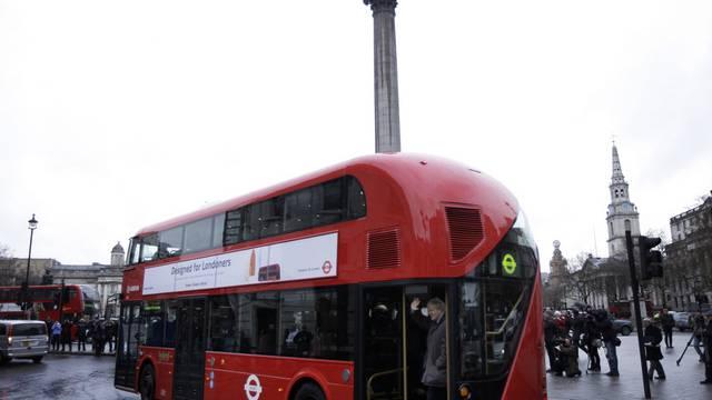 Die moderne Variante der Busse tourt wieder durch London
