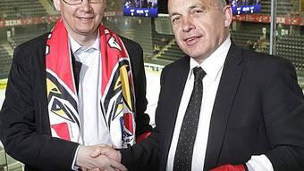 Norbert Darabos und Ueli Maurer