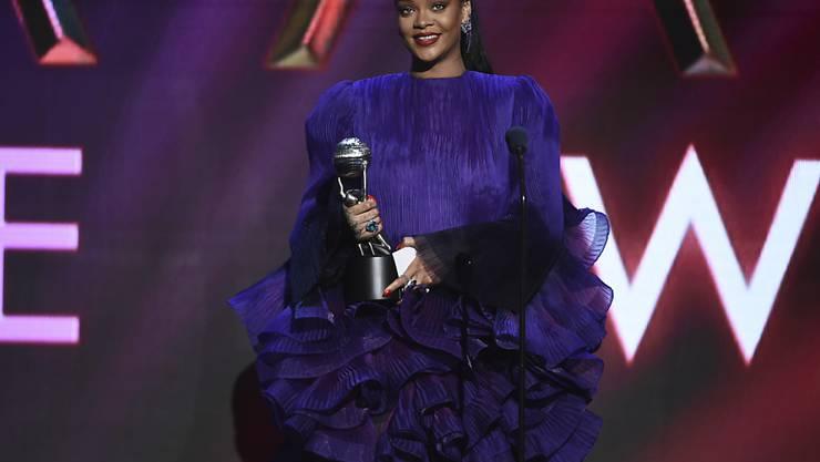 Pop-Superstar Rihanna spendet zusammen mit Twitter-Chef Jack Dorsey mehr als eine Million Dollar für die Opfer von häuslicher Gewalt in Zeiten der Coronakrise. (Archivbild)