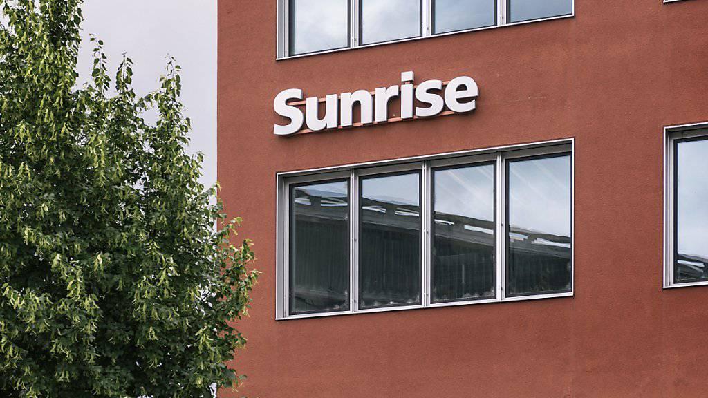 Sunrise hat nach neun Monaten etwas weniger Umsatz eingefahren als im Vorjahr. (Archiv)