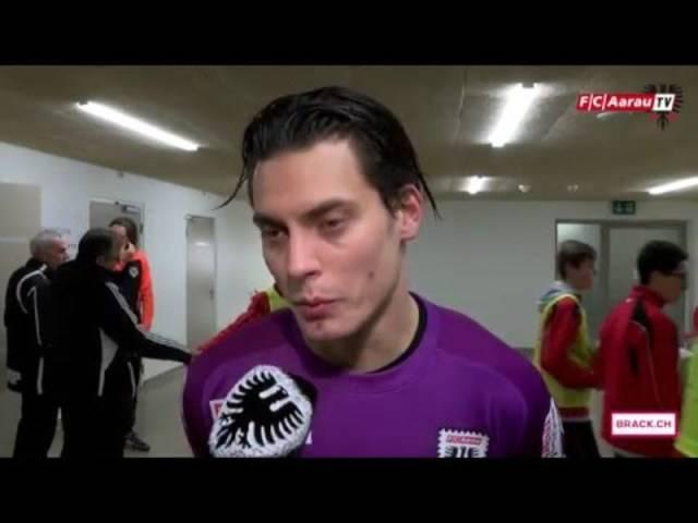 Neuchatel Xamax FCS - FC Aarau: Interviews mit Torhüter Steven Deana sowie Cheftrainer Marco Schällibaum