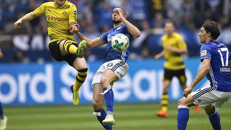 Marco Reus (links) führt Borussia Dortmund als Captain in die Bundesliga-Saison 2018/19
