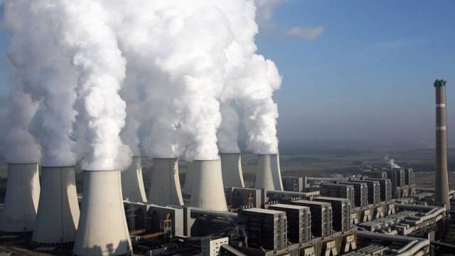 Hoher CO2-Ausstoss: Braunkohlekraftwerk in Deutschland (Archiv)