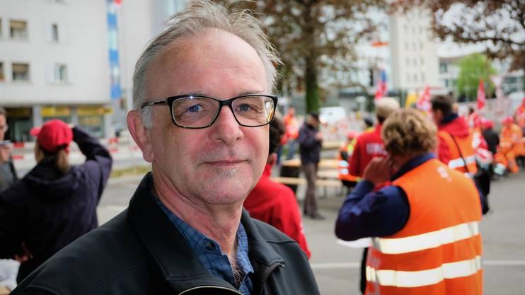 Verschaffte sich vor Ort ein Bild der Lage: der Schlieremer Sicherheitsvorstand Pierre Dalcher (SVP)