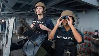 China sperrt den Zugang: US-Militärschiffe dürfen nicht mehr in Hongkong anlegen. (Symbolbild)