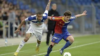Der FC Basel gewinnt gegen Lausanne mit 2:0