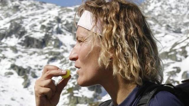 """Evelyne Binsack - hier 2006 auf ihrer spektakulären """"Expedition Antarctica"""" - wagt sich nun ans Abenteuer Film (Archiv)"""