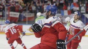 Michal Repik zeichnet sich gegen Frankreich als zweifacher Torschütze aus