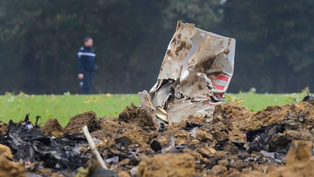 Im Oktober 2015 stürzte ein F/A-18-Kampfjet der Schweizer Armee im französischen Jura ab.