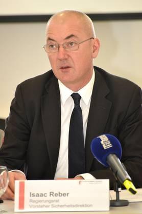 Regierungsrat Isaac Reber