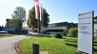 Das Bahntechnikcenter in Hägendorf soll bis 2023 ausgebaut werden.
