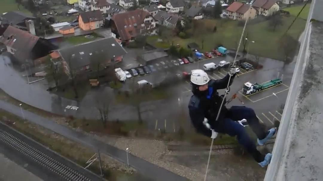 Durchhalteübung Polizei Solothurn 2019