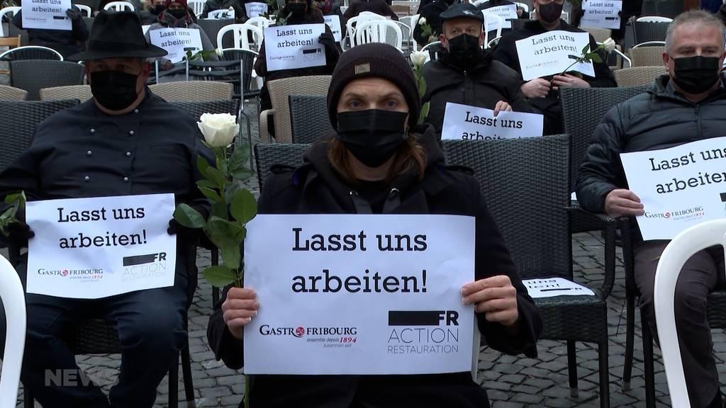 «Lasst uns arbeiten»: Vergeblicher Gastro-Streik in Freiburg