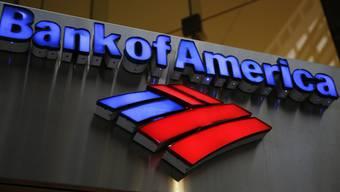 Bank of America muss Rekordbusse zahlen. (Archivbild)