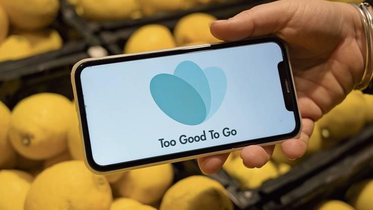 Mit der App «To Good To Go» sollen Lebensmittel gespart und Abfall vermieden werden.