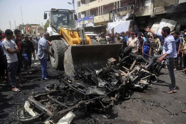Das Viertel Sadr City in Bagdad wird mehrheitlich von Schiiten bewohnt.
