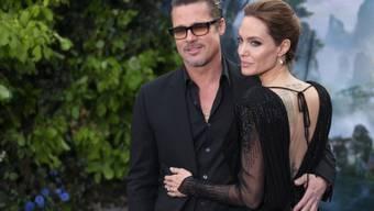 Brad Pitt und Angelina Jolie an der Premiere in London (Archiv)