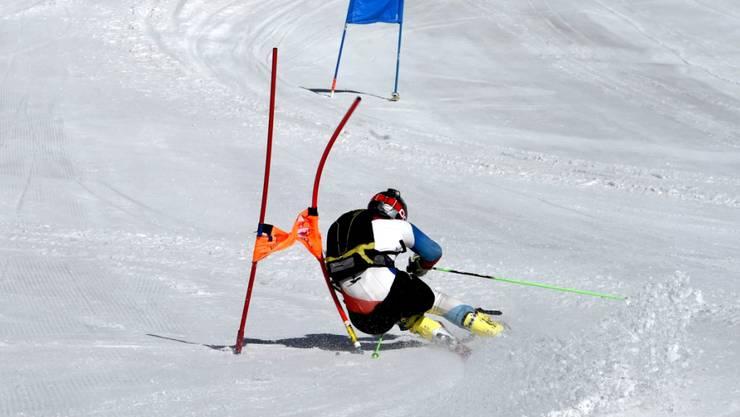 Möglichst eng um die Kurve: Um ihre Leistung zu verbessern, können Ski-Athletinnen und -Athleten bald auf ein neues Mess-System setzen.