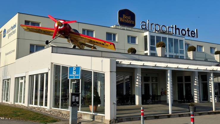 Das «Best Western» Hotel Airport trug zum guten Ergebnis bei.