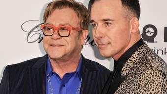 Elton John und David Furnish planen eine Heirat (Archiv)