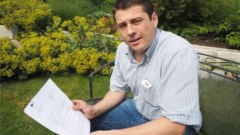 «Der Regierungsrat hat mich nicht mit einem Drei-Zeiler abgespeist»: Andreas Tscheulin ist mit der Antwort zufrieden. twe