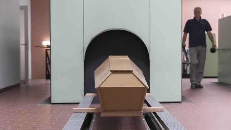 Das Stadtzürcher Krematorium Nordheim ist das grösste in der Schweiz.