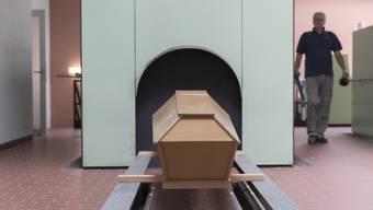 Stadtzürcher Krematorium Nordheim.
