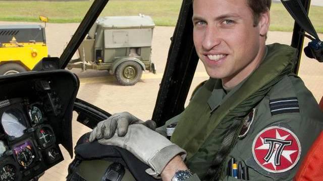 Prinz William findet retten schön, aber auch stressig - das hat die BBC dokumentiert (Archiv)