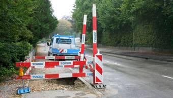 Rohrleitungsbruch in Solothurn