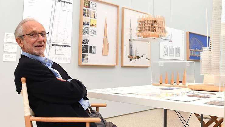 Der italienische Architekt Renzo Piano soll den Wiederaufbau der Unglücksbrücke in Genua leiten. (Archivbild)