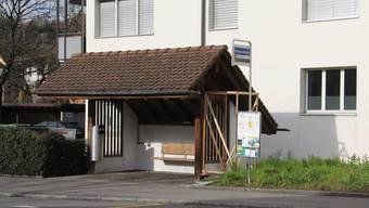Ein Automat ist an der Bushaltestelle Kirche Umiken vorgesehen.