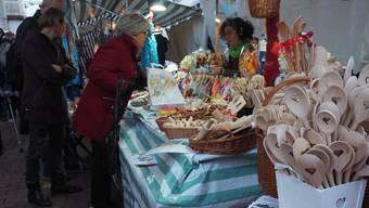 Impressionen vom Weihnachtsmarkt in Brugg